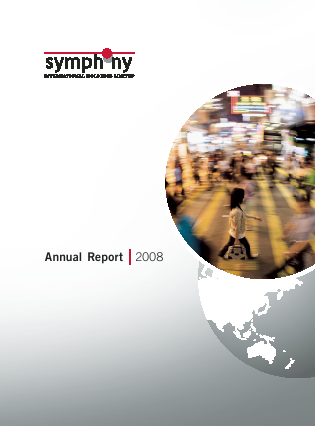 Symphony International Holdings annual report 2008