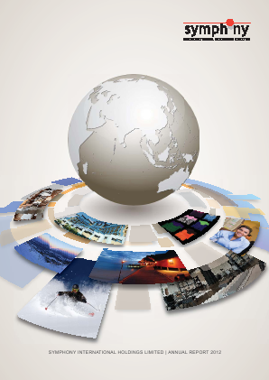 Symphony International Holdings annual report 2012