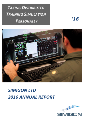 Simigon Ltd annual report 2016