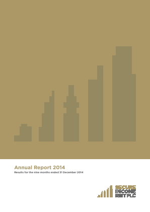 Secure Income Reit Plc annual report 2014