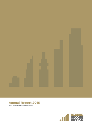 Secure Income Reit Plc annual report 2016