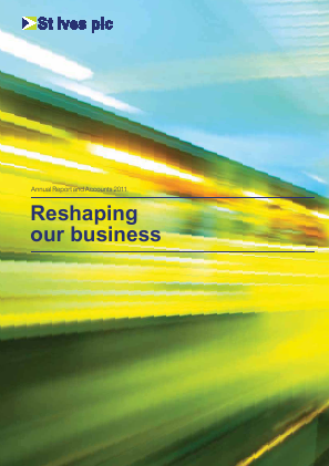 St Ives Plc annual report 2011
