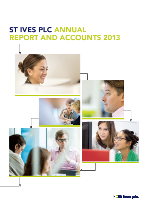St Ives Plc annual report 2013