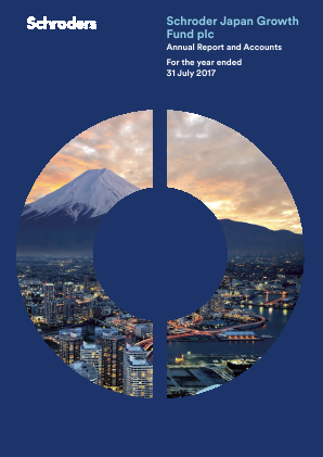 Schroder Japan Growth Fund annual report 2017