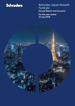 Schroder Japan Growth Fund annual report 2018