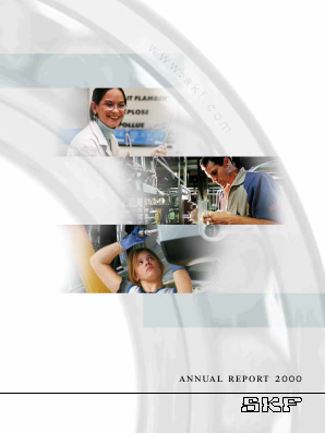 SKF annual report 2000