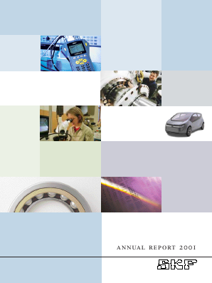SKF annual report 2001