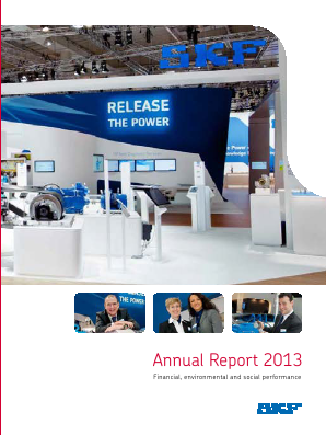 SKF annual report 2013