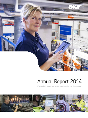 SKF annual report 2014
