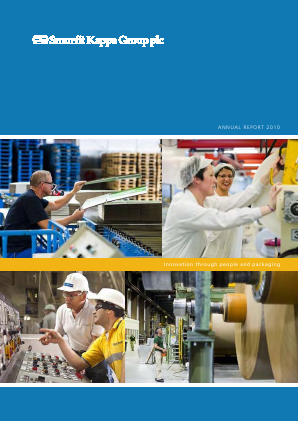 Smurfit Kappa Group Plc annual report 2010