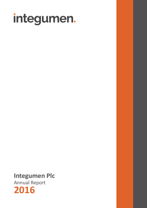 Integumen annual report 2016