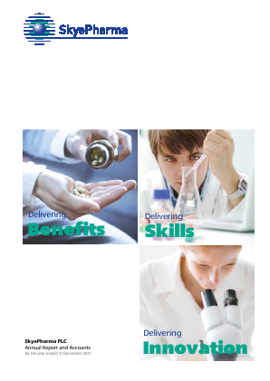 Skyepharma annual report 2011