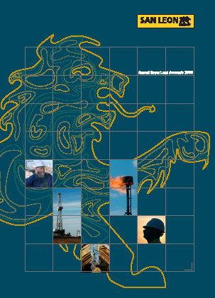 San Leon Energy Plc annual report 2008
