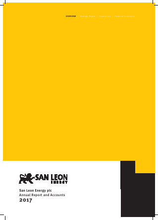 San Leon Energy Plc annual report 2017