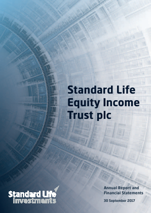 Standard Life Equity Income Trust annual report 2017