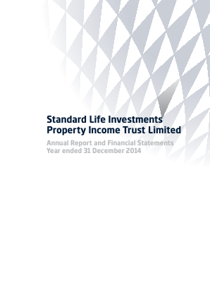 Standard Life Invest Property Income Trust annual report 2014