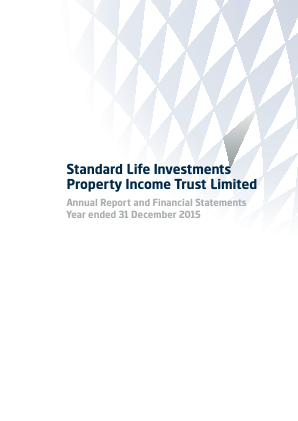 Standard Life Invest Property Income Trust annual report 2015