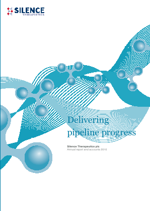 Silence Therapeutics Plc annual report 2010