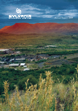 Sylvania Platinum annual report 2009