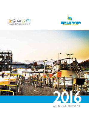 Sylvania Platinum Ltd annual report 2016