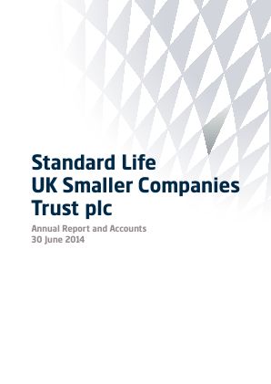 Standard Life UK Smaller Co Trust annual report 2014