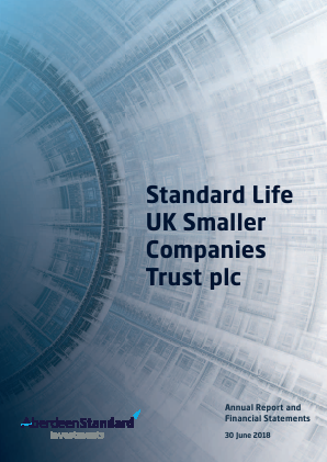 Standard Life UK Smaller Co Trust annual report 2018
