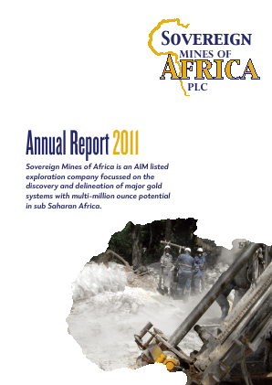 Sovereign Mines Of Africa Plc annual report 2011