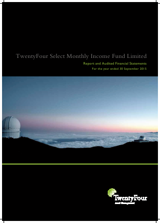 Twentyfour Select Monthly Inc Fd annual report 2015