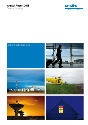 Smiths Group annual report 2011
