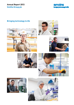 Smiths Group annual report 2013