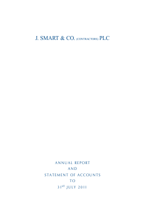 Smart(J) & Co annual report 2011