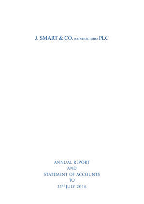 Smart(J) & Co annual report 2016