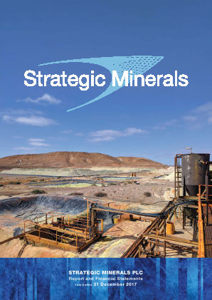 Strategic Minerals Plc annual report 2017