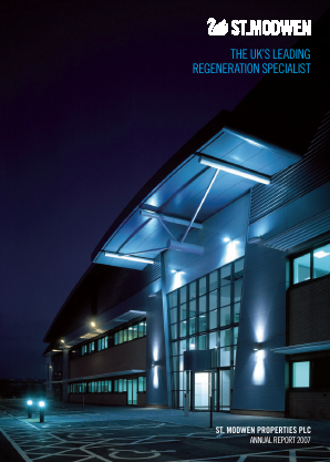 St Modwen Properties annual report 2007