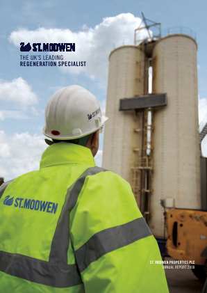 St Modwen Properties annual report 2008
