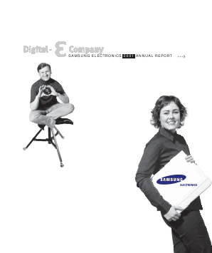 Samsung Electronics Co annual report 2001
