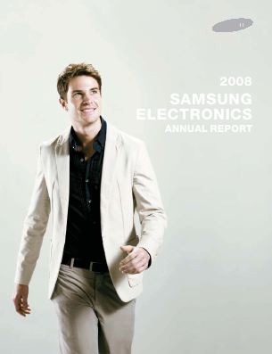 Samsung Electronics Co annual report 2008