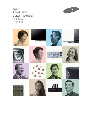 Samsung Electronics Co annual report 2011
