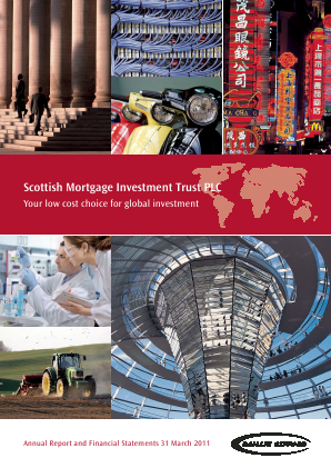 Scottish Mortgage Investment Trust annual report 2011