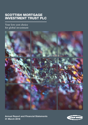 Scottish Mortgage Investment Trust annual report 2018