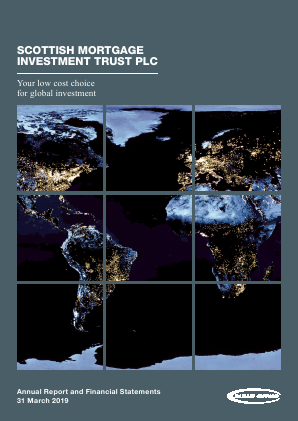 Scottish Mortgage Investment Trust annual report 2019