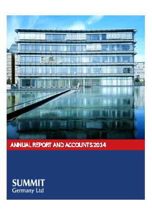 Summit Germany annual report 2014