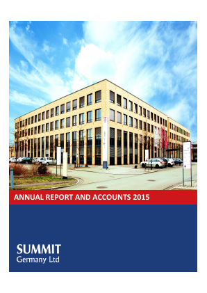 Summit Germany annual report 2015