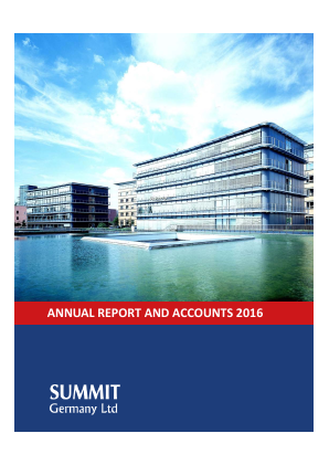 Summit Germany annual report 2016