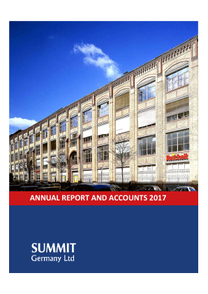 Summit Germany annual report 2017