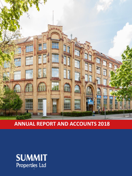 Summit Germany annual report 2018