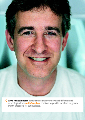 Smith & Nephew annual report 2003