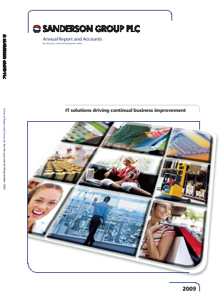 Sanderson Group annual report 2009