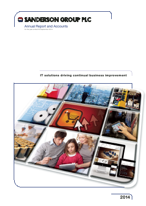 Sanderson Group annual report 2014