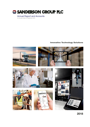 Sanderson Group annual report 2018